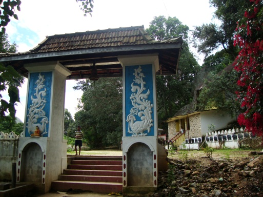 Entrance of the cave temple